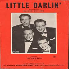 57年8週連続2位カナダの4人組ザ・ダイアモンズ「リトル・ダーリン ...